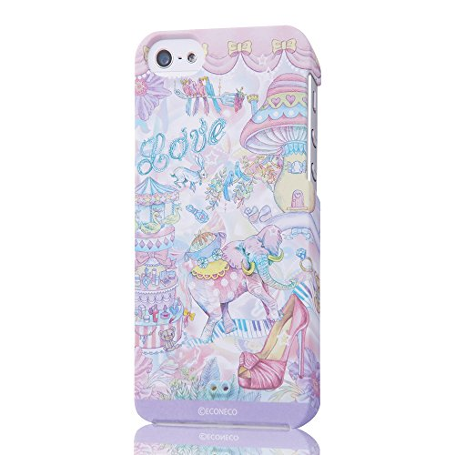 ECONECO Character iPhone 5 Case (Animal Parade)