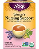 Yogi Tea, Woman's Nursing Support, 16 Count (Pack of 6), Packaging May Vary