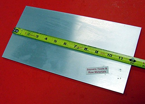 1/4″ X 6″ ALUMINUM 6061 T6511 FLAT BAR 12″ long .250″ PLATE Cut New Mill Stock