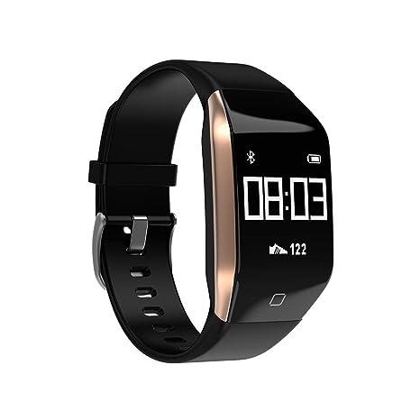 YMXLJJ GPS Pulsera Inteligente IP68 Impermeable Deportes Reloj Bluetooth 4,2 múltiples Deportes Ritmo cardíaco