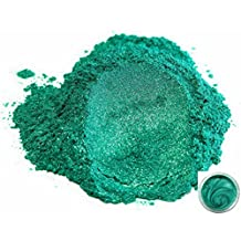 "50gr ""Okinawa Green"" Mica Powder Pigments (Resin, Paint, Epoxy, Soaps, Nail Polish, Liquid Wraps)"
