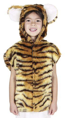Tiger Animal Tabard Childs Fancy Dress Costume - S 122cms