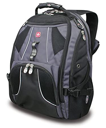 Amazon.com: SwissGear Wired Laptop Backpack for 17-Inch Notebook ...