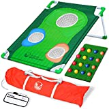 GoSports BattleChip Backyard Golf Cornhole Game |...