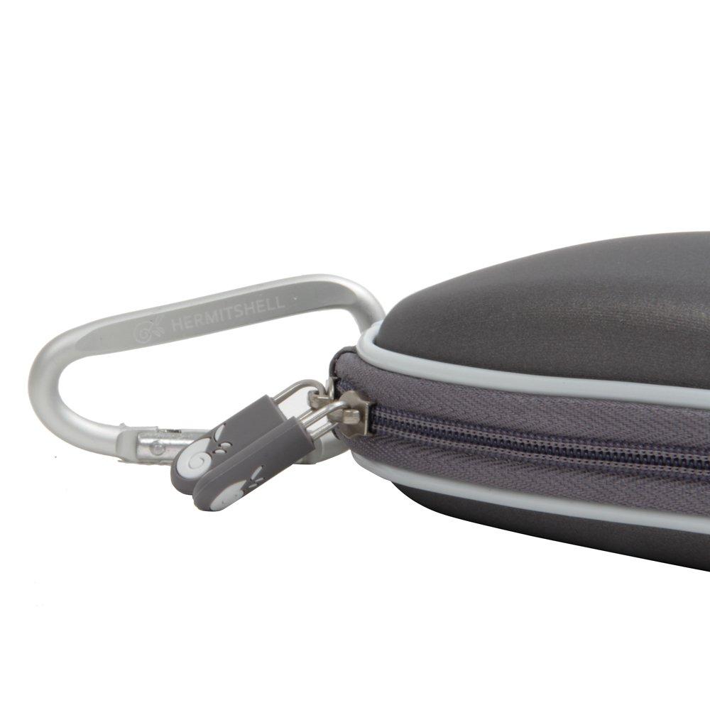 Hermitshell dur de stockage EVA couverture Housse /é tui de protection et un mousqueton pour Apple Magic Mouse souris I et II 2/è me G/é n Noir IT-10153/_1