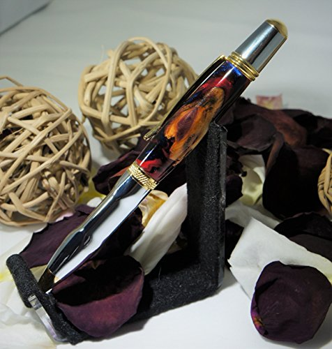 Earth Series - Luxury Wood & Resin Hybrid Pen with Grip Countour by Just Whittling by Alex
