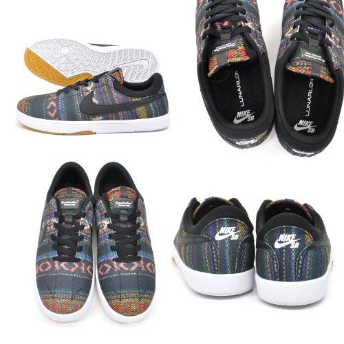 Nike , Herren Sneaker multi colour black white