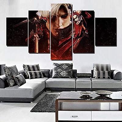 YINGXIN341 Wall Art Canvas Painting HD Print 5 Canvas ...