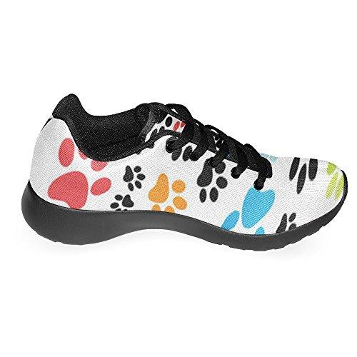 InterestPrint Womens Jogging Running Sneaker Lightweight Go Easy Walking Casual Comfort Running Shoes Multi 8 MOCO5oSc
