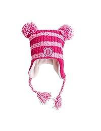 Boston Bruins Nikki Tassel Knit Hat with Poms