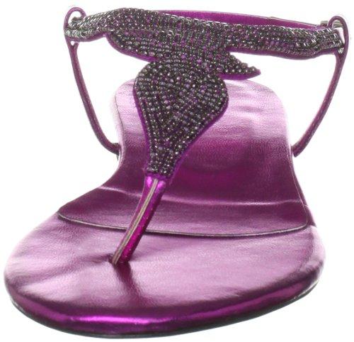 Unze Evening Sandals L18890W - Sandalias para mujer Morado