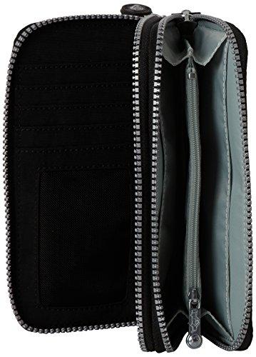 One Portafogli black Uzario Nero Donna Kipling warm Grey Grau Size qYZa55HnSx