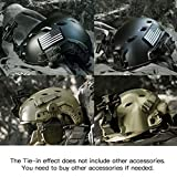 Tongcamo Fast BJ Paintball Airsoft Helmet for