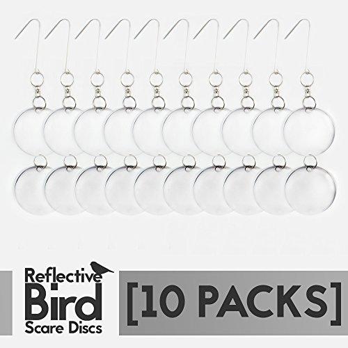 Reflective Repellent Scare Discs 10 PC