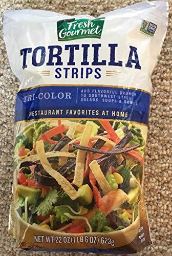 (Fresh Gourmet Tortilla Strips Tricolor 22 oz.)