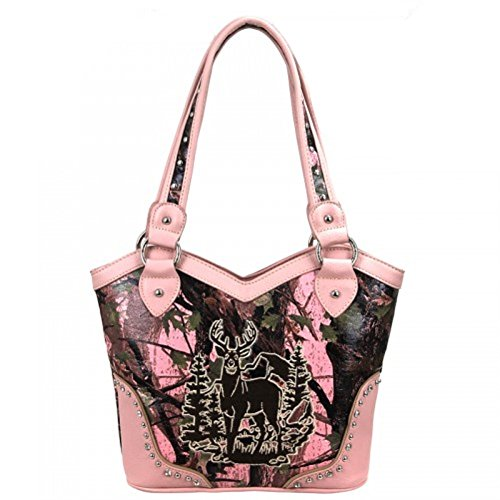 Montana-West-Camouflage-Buck-Concealed-Carry-Shoulder-Handbag-Pink