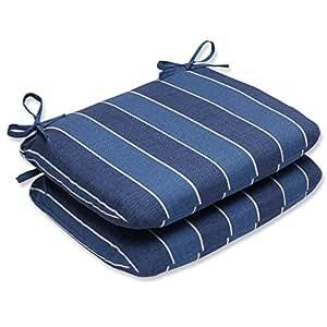 Almohada perfecta para el aire libre Wickenburg redondeado esquinas cojín de asiento (juego de 2)