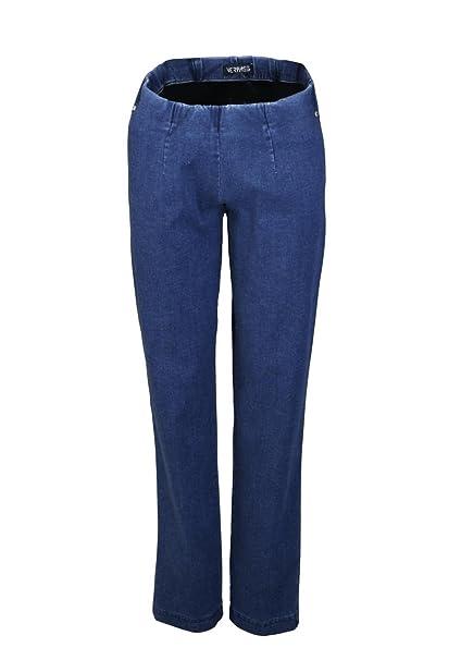 aceff96de66d Verpass Slim Jeans Stretch Gummibund Nachtblau  Amazon.de  Bekleidung