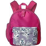 Wrestling Funny Children Zipper Daypack Travel Daypacks Backpacks