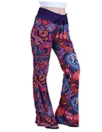 HDE Womens Wide Leg Pajama Pants Sleepwear Casual Loose Lounge PJ Yoga Bottoms