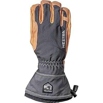 Hestra Winter Ski Gloves: Narvik Wool Terry Removal Liner Leather Gloves