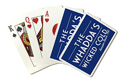 Hampton Beach, New Hampshire - The Whadda's Wicked Cold - Simply Said (Playing Card Deck - 52 Card Poker Size with Jokers)