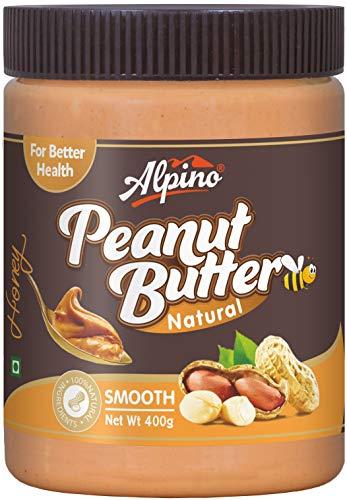 Alpino Natural Honey Peanut Butter Smooth 400 G (Gluten Free / Non-GMO)