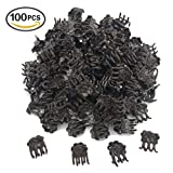 Huouo 100 Pcs Orchid Clips for Supporting Stems, Vines, Stalks to Grow Upright and Makes Flowers Plants Vegetables Healthier For Sale