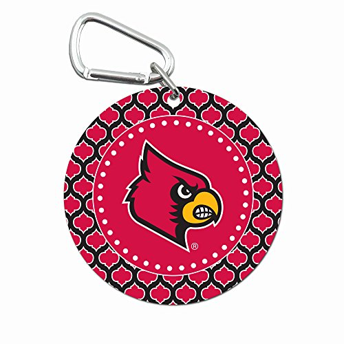 NCAA Louisville Cardinals Mini Mirror with Clip