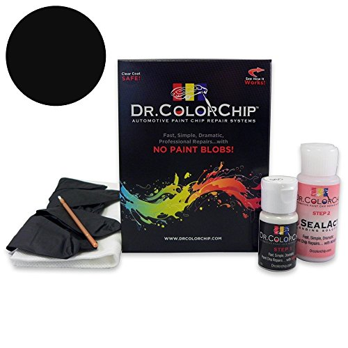 Dr. ColorChip Lexus LS 460 Automobile Paint - Obsidian Black 212 - Basic Kit