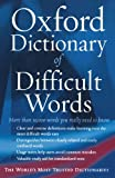 The Oxford Dictionary of Difficult Words, , 0195173287