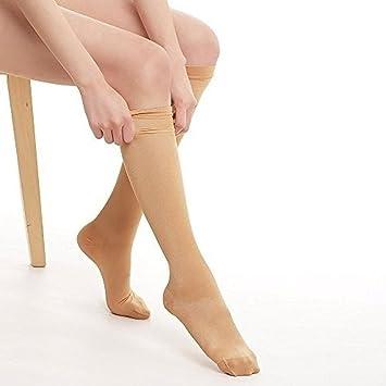 Behavetw Calcetines de compresión, cómodos Calcetines de compresión Unisex de Alta graduación para Correr,