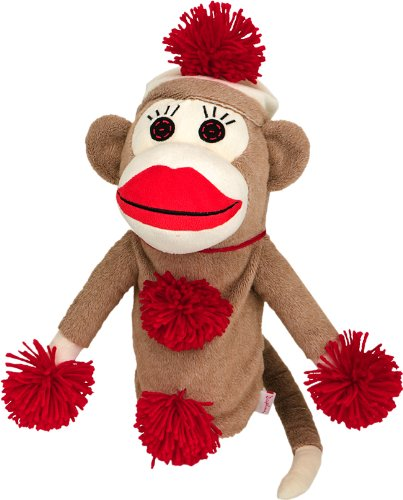 Oversized Monkey Made of Sockies Golf Head Cover