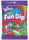 Wonka Lik-m-aid Fun Dip Candy, 8 Count, 4 Ounce Packets (Pack of 12)