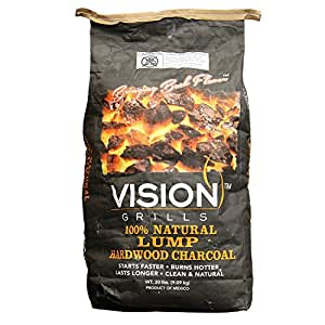 100% Natural Lump Mesquite Charcoal - 3 PACK