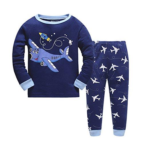 Tkala Boys Christmas Pajamas Girls Children Clothes Set Dinosaur 100% Cotton Little Kids Pjs Sleepwear