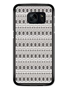 Aztec Mayan Pattern Original Art Illustration carcasa de Samsung Galaxy S7