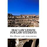 IRAC Law Lesson For Law Students: e law book