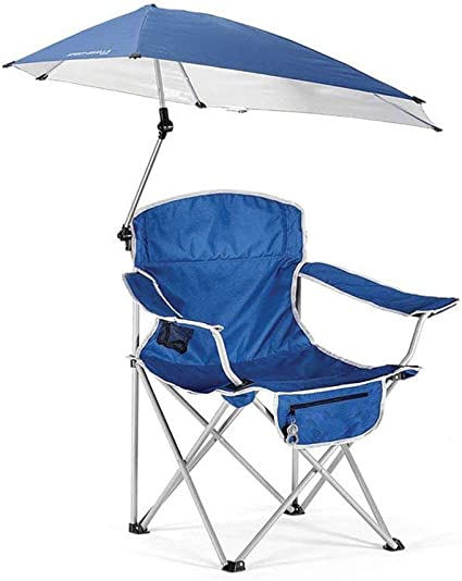 HYRL Paraguas reclinable Silla Plegable, Ocio al Aire Libre ...