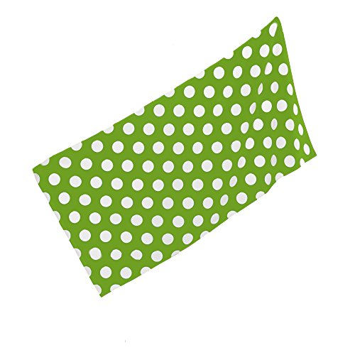 - byLora Terry Towel for Spa, Beach Polka dot Towel, Apple Green
