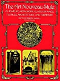 img - for The Art Nouveau Style in Jewelry, Metalwork, Glass, Ceramics, Textiles, Architecture and Furniture (Dover Architecture) book / textbook / text book