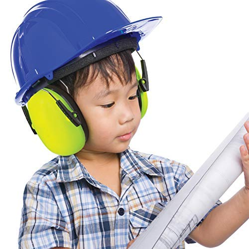 Hearing Protection Ear Muffs Lime Green Hearing Protection And