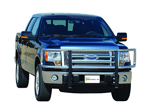 Industries Big Tex Grille Guards - Go Industries 77634 Big Tex Chrome Grille Guard