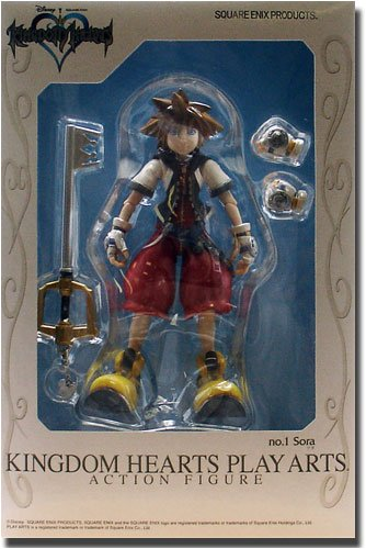 Kingdom Hearts Play Arts Sora Action Figure