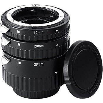 Mcoplus Extnp Auto Focus Macro Extension Tube Set for Nikon AF AF-S DX FX SLR Cameras