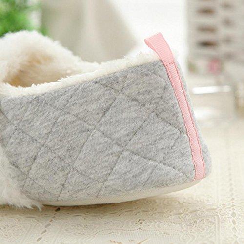 WeiMay Frauen Baumwolle Hausschuhe Frau Kleine Slipper Winter Home Schuhe Für Winter