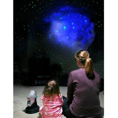 Star Projector Laser Green (Lzr Stars Projector - Blue Hologram RGB Green Laser Star Field)