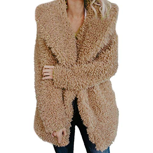 Artificiale Donna Inverno Outwear Outercoat Caldo Casual Morwind Fashion Giacca Pelliccia Soprabito In Cappotto Khaki Piumino Jacket Parka w5OOxqI