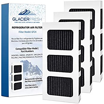 GLACIER FRESH PAULTRA2 Air Filter compatible with Frigidaire PureAir Ultra II Air Filter AP6285787, EAP12364179 Filter for Air(3 Pack)