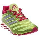 Adidas Performance Women's Springblade W Running Shoe,Frozen Yellow/Bold Pink/White,9.5 M US For Sale